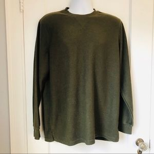 Five Four LA Olive Green Gowdie Long Sleeve Shirt
